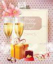 Happy Wedding Day Background Design