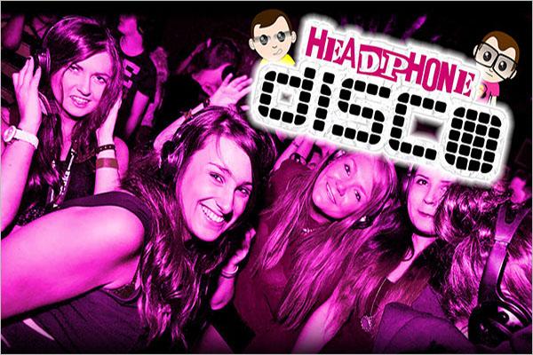 Headphone Disco Dance Party