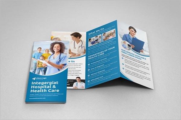 Health Care Trifold Brochure Design