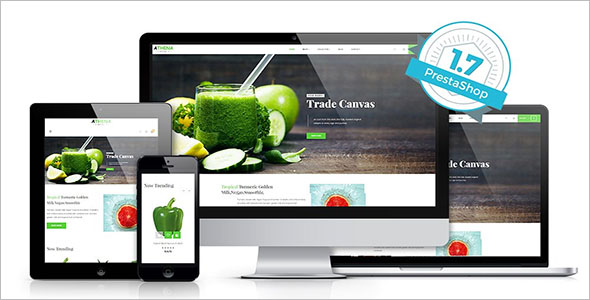 Health Food Prestashop Theme