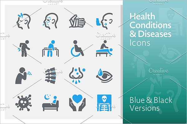 Health Icons PNG