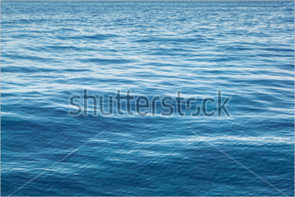 High Resolution Blue Sea Water