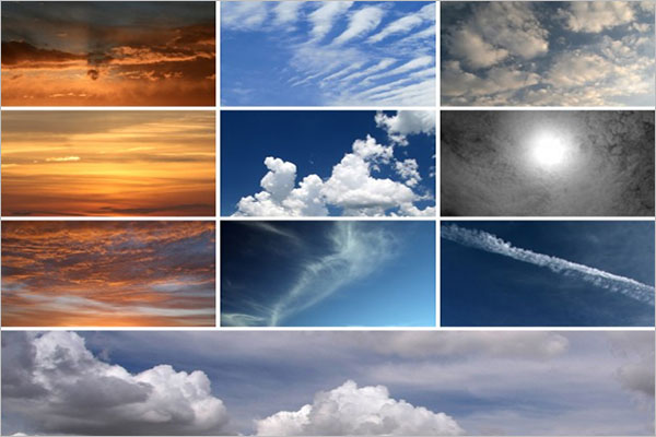 High Resolution Cloud Textures
