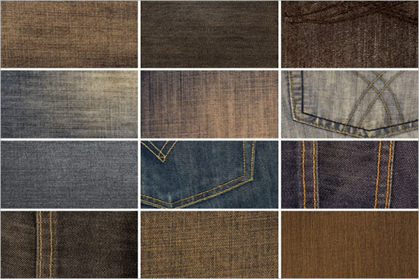 High Resolution Denim Textures