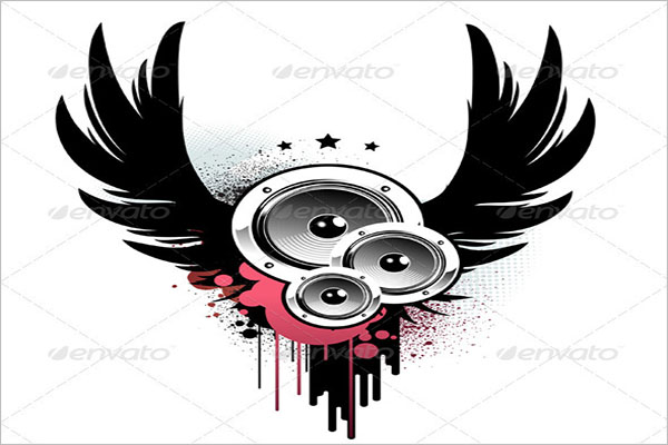 Hip Hop Music Background