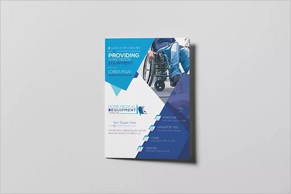 Home Medical Equipment Brochure Design