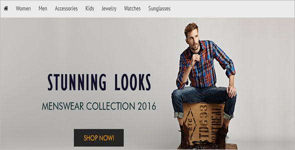 Homepage Opencart Theme