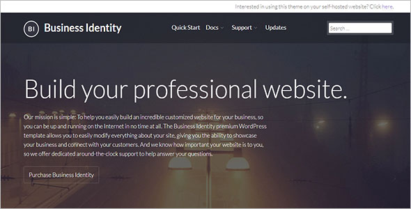 IT Business Identity WordPress Theme