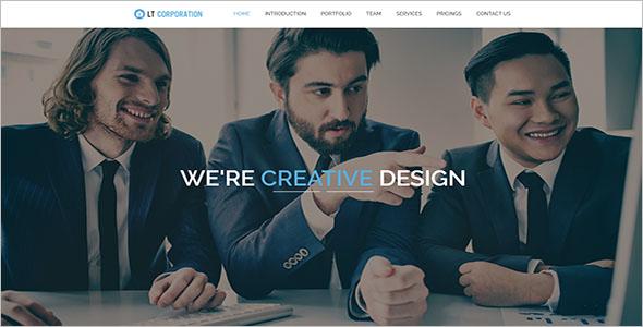 IT Corporation Onepage WordPress