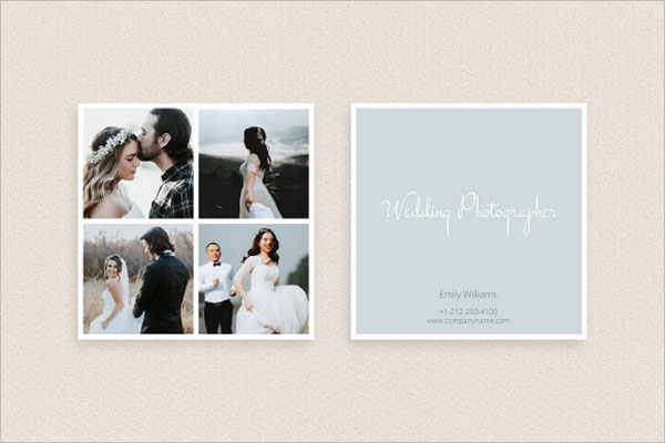 Indian Wedding Planner Business Card