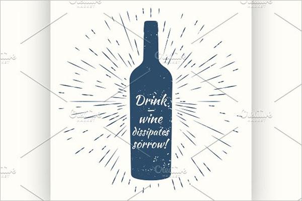 Italian Wine Poster Design