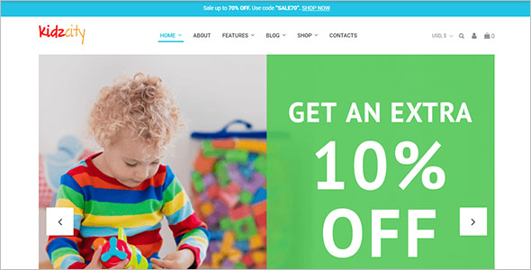 Kids Store WooCommerce Theme