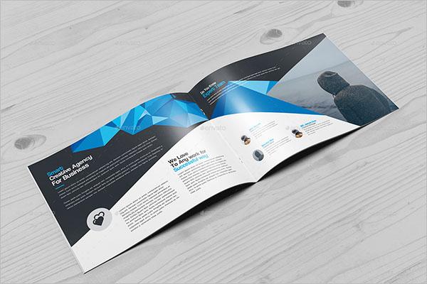 Landscape Brochure Design Size