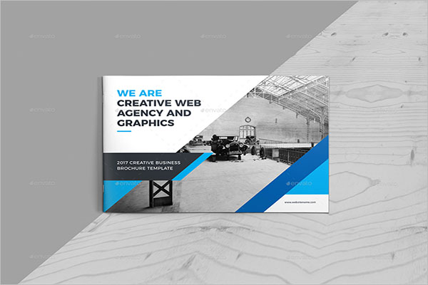 Landscape Brochure Vector Design