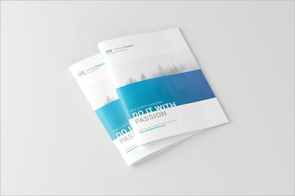 Landscape Catalog Brochure Design
