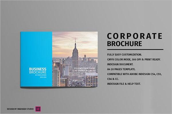 Landscape Corporate Brochure Template