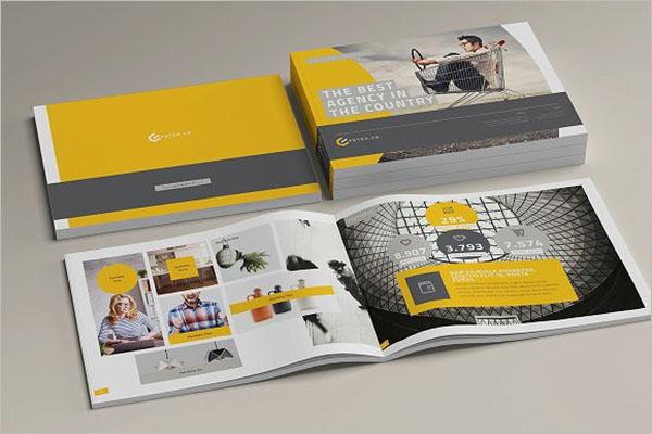 Landscape Magazine Brochure Design
