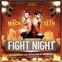 Latest Night Boxing Flyer Template