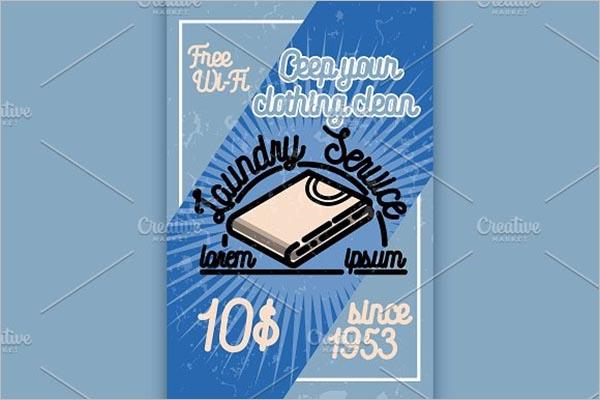 Laundry Poster Room Design