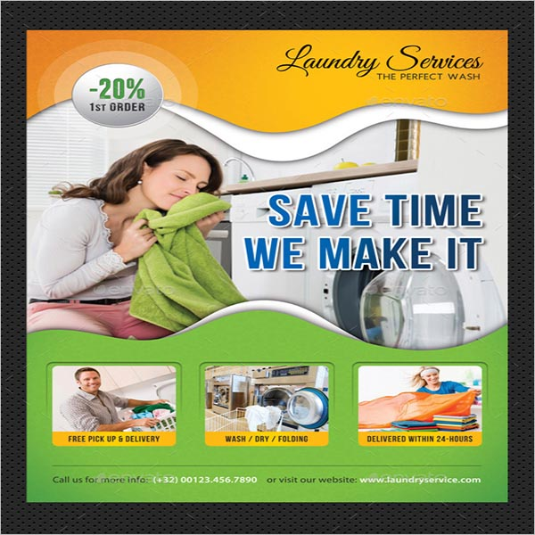 Laundry Services Poster Free Download