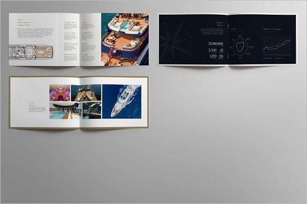 Luxury Landscape Brochure Template