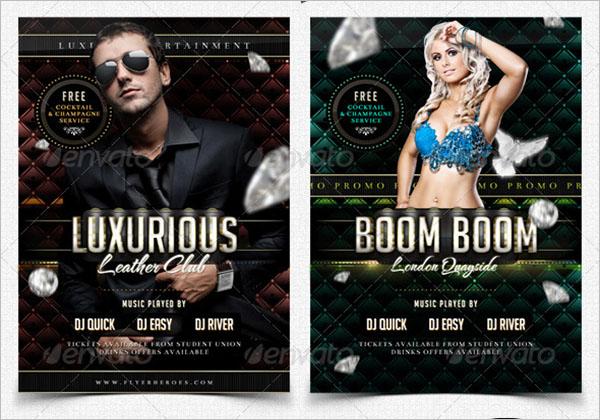 Luxury Nightclub Flyer Template