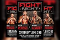 MMA Boxing Flyer