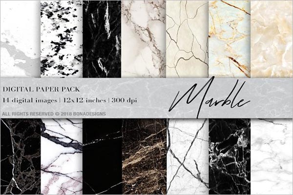 Marble Background Digital Paper