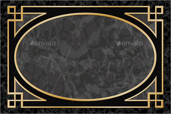 Marble Background with Frame Design
