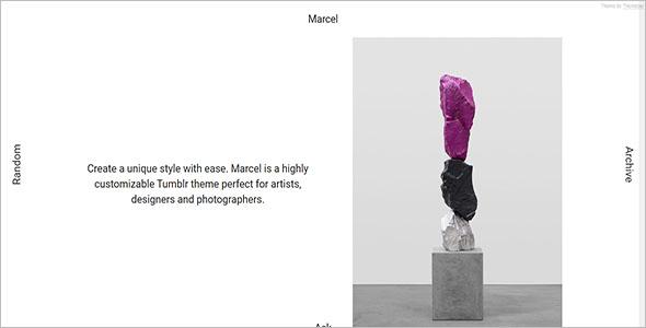 Marcel Tumblr Theme