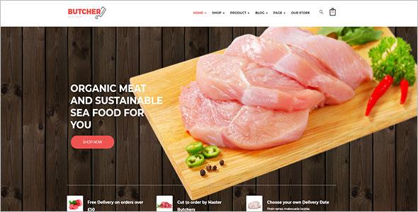 Meat Shop Woocommerce Theme