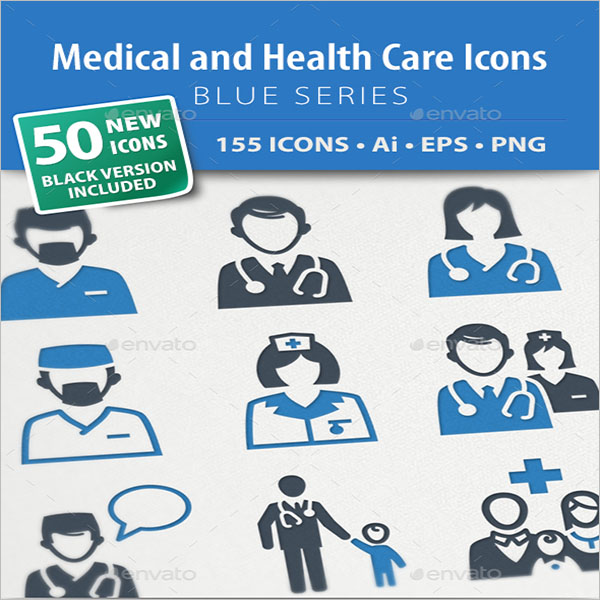 Medical & Health Care Icon Ideas