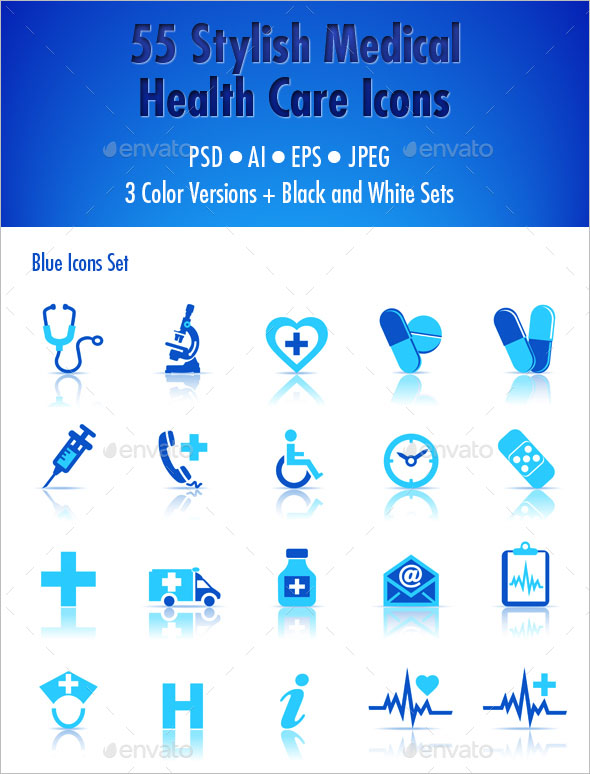 Medical Health Care Icon Sets