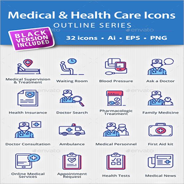 Medical & Health Vectors Icons