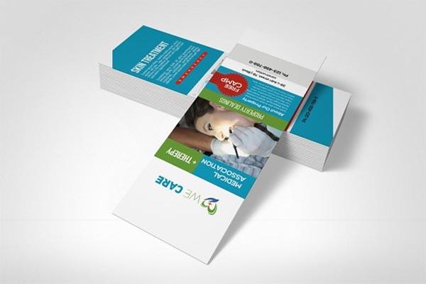 Medical Rank Card Template