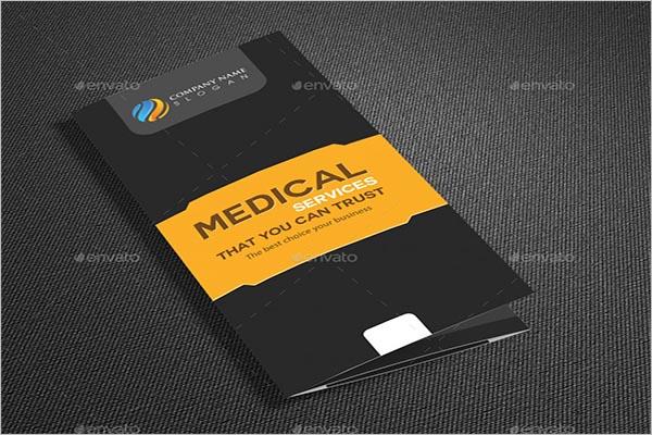 Medical Services Brochure Design