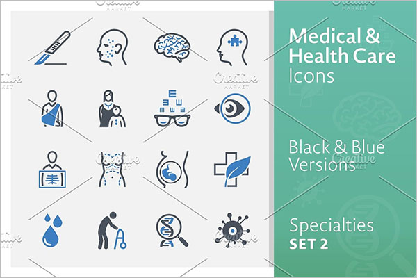 Medical Specialties Icons