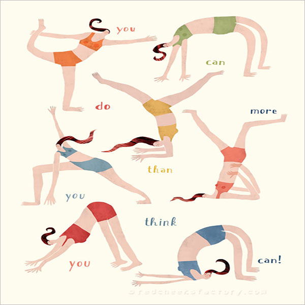 Mini Yoga Poster Template