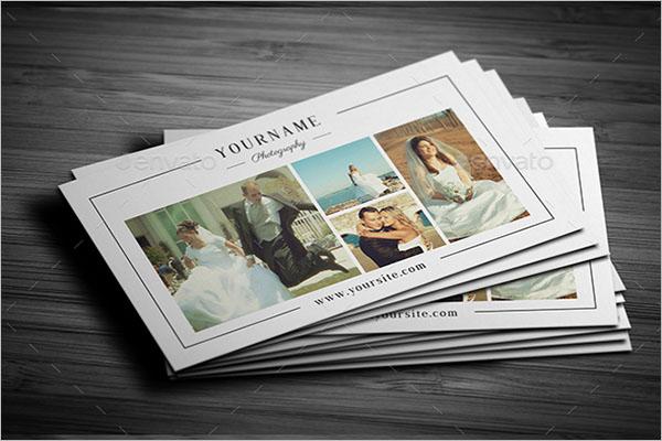Minimal Wedding Photography Business Card