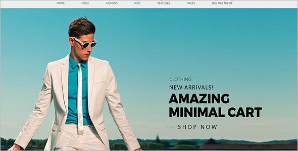 Minimal eCommerce OpenCart Theme