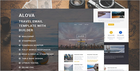 Mobile Responsive Email Template