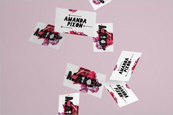 Modern Artist Business Card