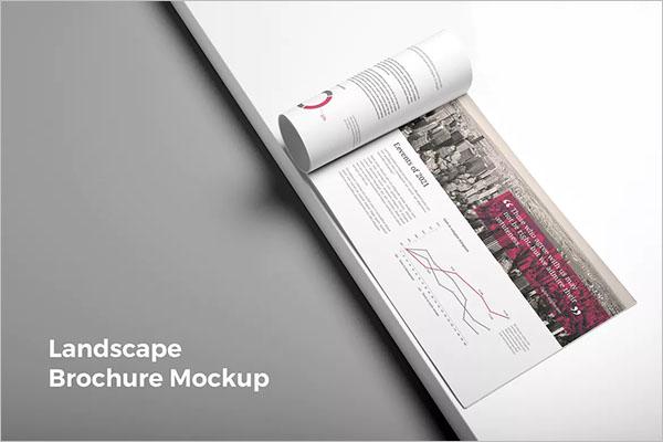 Modern Landscape Brochure Design