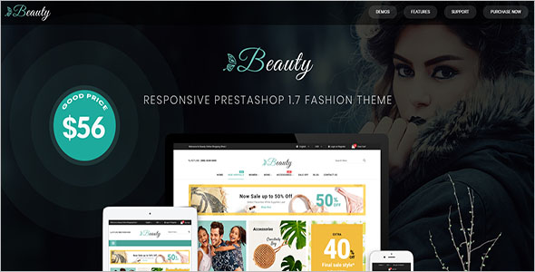 Modern PrestaShop 1.7 Fashion Theme