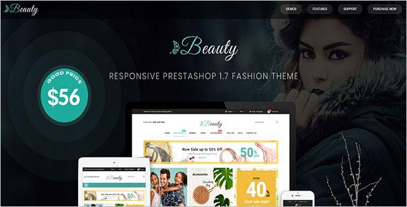 Modern PrestaShop 1.7 Fashion Theme