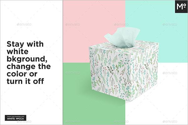 Modern Tissue Box Mock-up