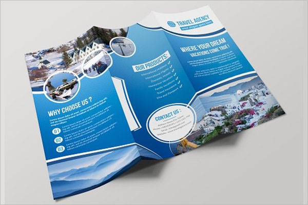Modern Travel Brochure Design