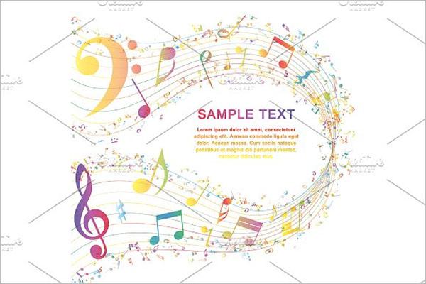 Multicolor Musical Designs