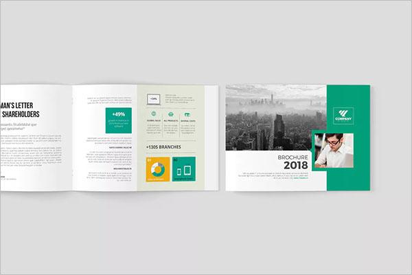 Multipurpose Landscape Brochure Design