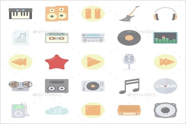 Music & Audio Flat Icon